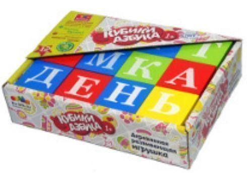 Кубики Азбука, 12 шт.Кубики<br>Развивающая игрушка Азбука привлечет внимание малыша и познакомит его с буквами. Игра с кубиками развивает зрительное восприятие, наблюдательность и внимание, мелкую моторику рук и цветовосприятие.Набор состоит из 12 ярких кубиков с изображением букв. М...<br><br>Год: 2018<br>Высота: 130<br>Ширина: 175<br>Толщина: 40