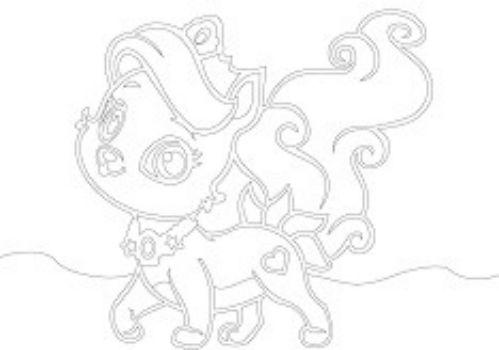 Трафарет для цветного песка КошкаКартины из песка<br>Трехслойная картонная основа с вырезанным лазером трафаретом для рисования цветным песком. Формат А5.<br><br>Год: 2016<br>Высота: 150<br>Ширина: 210<br>Толщина: 1