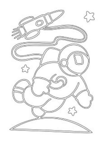 Трафарет для цветного песка КосмонавтКартины из песка<br>Трехслойная картонная основа с вырезанным лазером трафаретом для рисования цветным песком. Формат А5.<br><br>Год: 2016<br>Высота: 210<br>Ширина: 150<br>Толщина: 1
