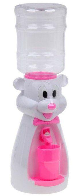 Кулер детский Мультик. Микки, 2 л., миксИгры и игрушки<br>Кулер детский Микки - настольный кулер для воды и сока, который не греет и не охлаждает воду, поэтому вы можете не беспокоиться, что ребенок обожжется или простудит горло. Корпус данной модели выполнен из пищевого безопасного пластика, имеет яркий насыщ...<br><br>Год: 2017<br>Высота: 500<br>Ширина: 165<br>Толщина: 160