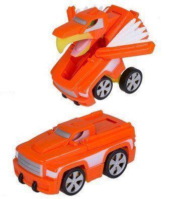Трансформер-машина ОрелМашинки<br>Машина-трансформер - отличный подарок для любознательного ребенка. С виду это обычная машина, но стоит только нажать небольшой рычажок - и машина превращается в птицу на колесах. Игра с трансформером развивает смекалку, моторику рук, координацию движений ...<br><br>Год: 2016<br>Высота: 180<br>Ширина: 200<br>Толщина: 95