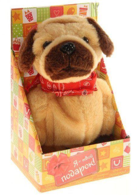 Игрушка интерактивная Собака шарпей, в коробкеИгрушки<br>Мягкая игрушка интерактивная Собака шарпей - уникальная игрушка, которая неизменно будет радовать вашего ребёнка, а также поспособствует полноценному и гармоничному развитию его личности.Упаковка: картонная коробка.<br><br>Год: 2016