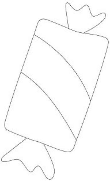 Трафарет для цветного песка КонфетаКартины из песка<br>Трехслойная картонная основа с вырезанным лазером трафаретом для рисования песком.Формат А6.<br><br>Год: 2017<br>Высота: 150<br>Ширина: 105<br>Толщина: 1