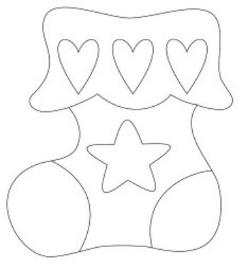Трафарет для цветного песка НосокКартины из песка<br>Трехслойная картонная основа с вырезанным лазером трафаретом для рисования песком. Формат А6.<br><br>Год: 2017<br>Высота: 150<br>Ширина: 105<br>Толщина: 1