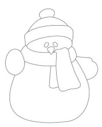 Трафарет для цветного песка Снеговик №2Картины из песка<br>Трехслойная картонная основа с вырезанным лазером трафаретом для рисования песком. Формат А6.<br><br>Год: 2017<br>Высота: 150<br>Ширина: 105<br>Толщина: 1