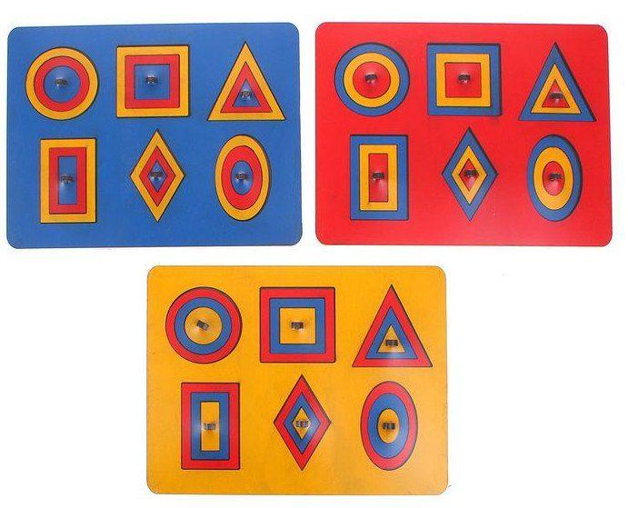 Рамки-вкладыши М.Монтессори Паутинки, миксДеревянные игрушки<br>Рамки - вкладыши помогут изучить геометрические фигуры, разовьют глазомер и координацию движений рук. Ребенок научится соотносить предметы по форме и размеру, расширит словарный запас и кругозор. Вкладыши можно обводить на бумаге и раскрашивать.Для детей ...<br><br>Год: 2017<br>Высота: 240<br>Ширина: 310<br>Толщина: 10