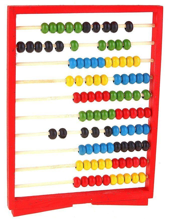 Счеты на подставкеДеревянные игрушки<br>Счеты - это игровой набор, который научит малыша считать. Счеты выполнены из дерева. Ребенку будет весело передвигать разноцветные деревянные косточки, совмещая при этом игру с обучением.Для детей от 4-х лет.<br><br>Год: 2017<br>Высота: 240<br>Ширина: 180<br>Толщина: 12
