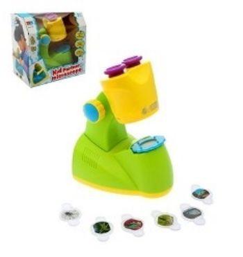 Игрушка обучающая Микроскоп, 6 предметовИгры и игрушки<br>Игрушка обучающая Микроскоп - уникальная игрушка, которая неизменно будет радовать вашего ребёнка, а также поспособствует полноценному и гармоничному развитию его личности. Для детей от 4-х лет.<br><br>Год: 2017<br>Высота: 240<br>Ширина: 230<br>Толщина: 150