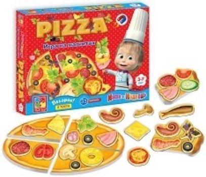 Настольная игра Юный повар. ПиццаНастольные игры<br>Пицца - мои первые кулинарные шедевры с Машей - сюжетно-ролевая игра, в которой можно самостоятельно создать свой самый первый кулинарный шедевр - аппетитную пиццу и вкусные тосты.Для создания шедевров в коробке есть хлебные тосты и основа для пиццы, а ...<br><br>Год: 2017<br>Высота: 195<br>Ширина: 245<br>Толщина: 30