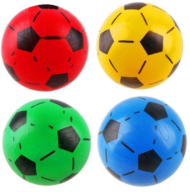 Мяч футбольный, миксИгры и игрушки<br>Мяч футбольный, диаметр 20 см.Материал: резина.Цвета микс, выбор конкретных цветов и моделей не предоставляется.<br><br>Год: 2017