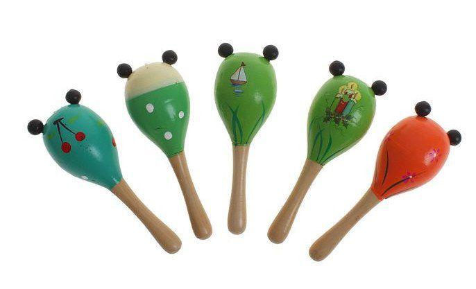 Игрушка музыкальная Маракас с ушками, миксМузыкальные инструменты, погремушки<br>Маракас - это музыкальный инструмент с пересыпающимися шариками внутри. Малыши очень любят его, ведь он напоминает погремушку. Маракас издаёт приятный шуршащий звук и позволяет создавать короткие мелодии, под которые так весело танцевать.Игрушка развивает...<br><br>Год: 2017<br>Высота: 140<br>Ширина: 40<br>Толщина: 40
