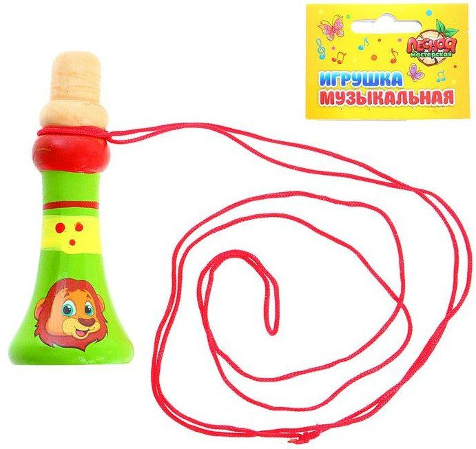Дудочка музыкальная на веревочке Веселые джунглиМузыкальные инструменты, погремушки<br>Дудочка изготовлена из экологически чистой древесины и покрыта нетоксичными, безопасными для малыша красками. Такая игрушка способствует развитию у детей слуха и чувства ритма, творческого мышления, развивает мелкую моторику пальцев, общую координацию дви...<br><br>Год: 2017<br>Высота: 90<br>Ширина: 20<br>Толщина: 20
