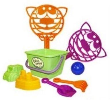 Песочный набор Котики, вперед! №1Игры и игрушки<br>Набор состоит из 8-ми предметов.Материал: пластик.Для детей от 2-х лет.<br><br>Год: 2017<br>Высота: 420<br>Ширина: 250<br>Толщина: 150