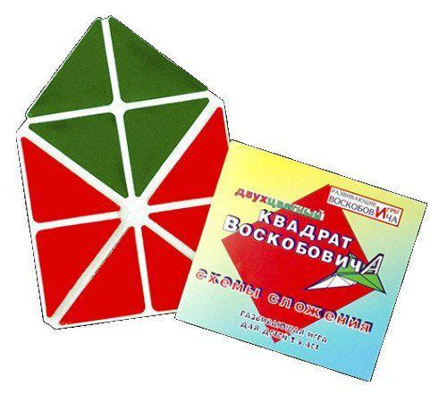 Развивающая игра Квадрат Воскобовича, 2 цветаРазвивающие игры<br>Эта игра будет интересна не только детям разных возрастов, но и играющим с ними взрослым. Она сделана в форме квадрата, который состоит из 16 равнобедренных треугольников. Между треугольниками, составляющими квадрат, есть пространство шириной 0,5 - 1 см. ...<br><br>Год: 2017<br>Высота: 140<br>Ширина: 140<br>Толщина: 2
