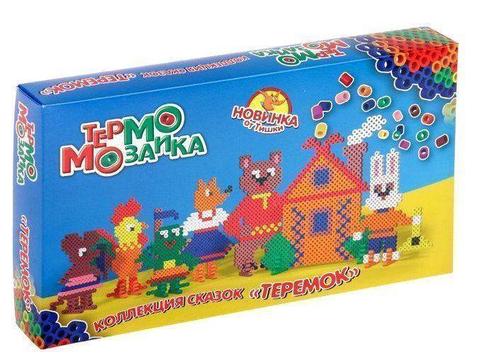 Термомозаика ТеремокКонструирование из дерева, из пластика, оригами<br>Малыш с легкостью разберется с мозаикой, поскольку в комплекте увидит подсказку. Собрать яркую и красивую картинку очень просто. После этого ребенок сможет подключить фантазию и создать из мозаики любимых персонажей мультфильмов или любые картинки. Главно...<br><br>Год: 2017<br>Высота: 175<br>Ширина: 300<br>Толщина: 35