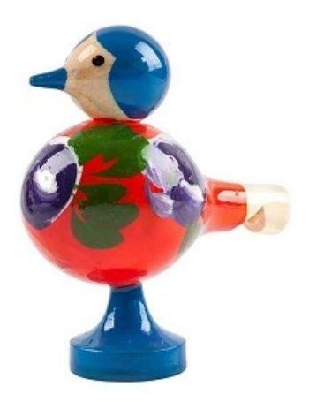 Свистулька Птичка расписная, миксМузыкальные инструменты, погремушки<br>Игрушка представлена в ассортименте. Выбор конкретных цветов и моделей не предоставляется.Материал: дерево.<br><br>Год: 2017<br>Высота: 80<br>Ширина: 70<br>Толщина: 40