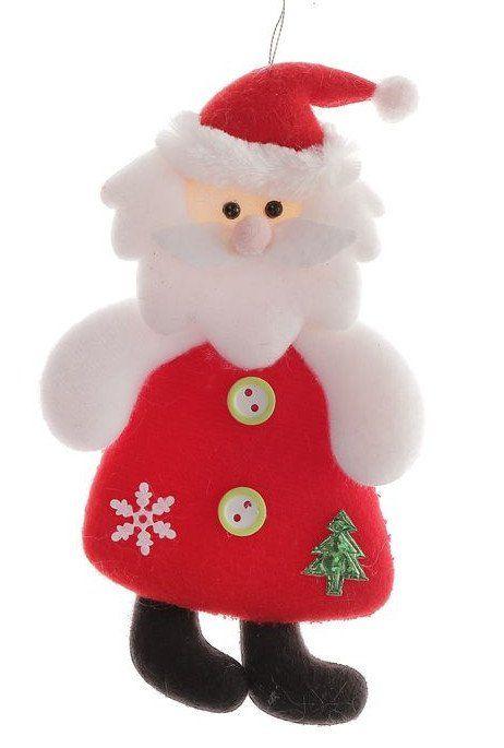 Подвеска мягкая Толстячок Дед МорозГирлянды, мишура, дождик<br>Материал: текстиль.<br><br>Год: 2017<br>Высота: 150<br>Ширина: 80<br>Толщина: 15