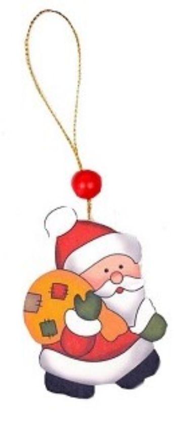 Подвеска новогодняя на елку Дедушка с мешкомГирлянды, мишура, дождик<br>Материал: дерево.<br><br>Год: 2017<br>Высота: 70<br>Ширина: 50<br>Толщина: 5