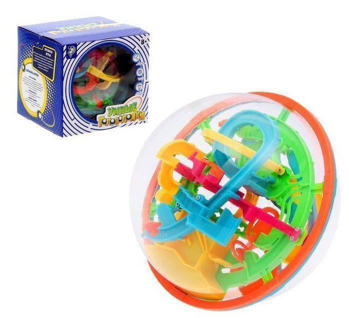 Игрушка развивающая Лабиринтус, 138 уровнейИгры и игрушки<br>Испытайте себя в Умной головоломке: преодолейте уровни с лабиринтами и доведите металлический шарик до финиша.Поставьте шарик на стартовую позицию. Медленно поворачивайте, крутите, наклоняйте головоломку и следите за тем, чтобы металлический шарик всегд...<br><br>Год: 2017<br>Высота: 175<br>Ширина: 175<br>Толщина: 175