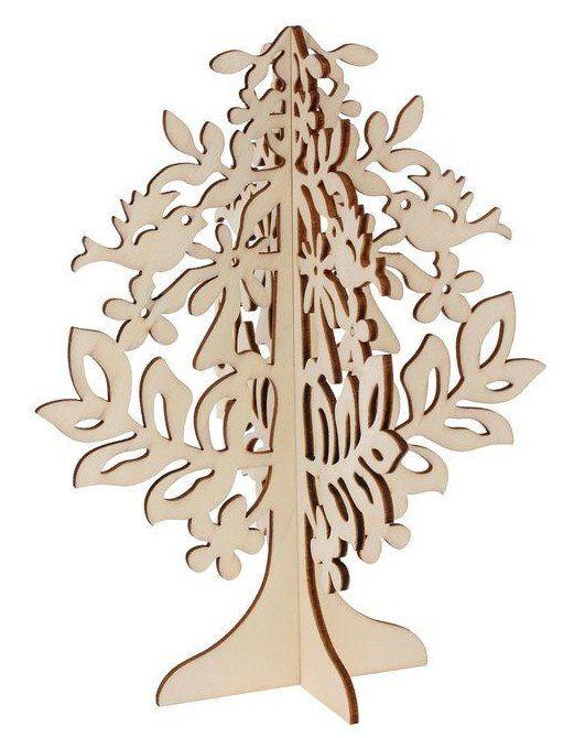 Декор под роспись Резное деревоНаборы для детского творчества<br>Красивый декор станет отличным подарком для любого творческого человека и даже для маленького ребенка. Изделие обладает ровной поверхностью и специальной подставкой - все это поможет более удобной росписи. Декор произведен из качественного материала, имен...<br><br>Год: 2017<br>Высота: 180<br>Ширина: 145<br>Толщина: 5