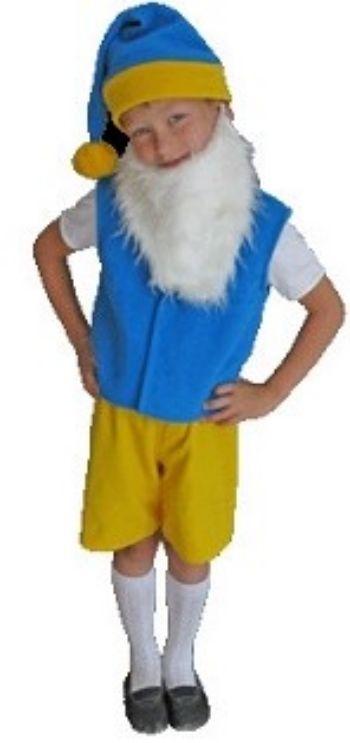 Карнавальный костюм ГномикИгровая деятельность в ДОО<br>Карнавальный костюм Гнома подойдет маленьким волшебникам. В нем мальчишка почувствует себя настоящим героем, что поможет вжиться в образ, прекрасно сыграть свою роль на утреннике или просто повеселиться на празднике. Благодаря высококачественным материала...<br><br>Год: 2017<br>Высота: 250<br>Ширина: 230<br>Толщина: 100