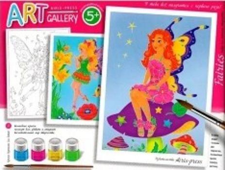 Незатекаемые контуры. Набор для творчества ФеиРисование<br>Art gallery набор с красками - уникальный набор для творчества, с помощью которого получится создать действительно красивые картины загадочных котиков. Теперь абсолютно неважно, умеете ли вы рисовать.Основы для раскрашивания созданы по специальной техно...<br><br>Год: 2018<br>ISBN: 978-5-8112-5849-9<br>Высота: 180<br>Ширина: 245<br>Толщина: 22