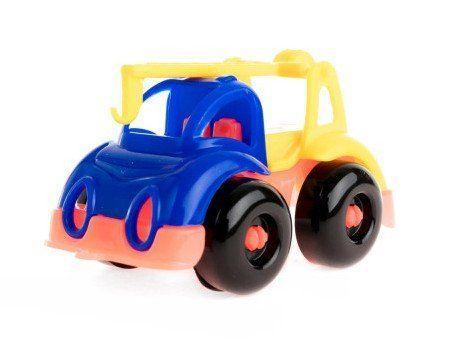 Кран Малютка, миксИгры и игрушки<br>С помощью игрушечных машинок малыши осваивают простые сюжетные действия: катать машинку, перевозить груз. Дети постарше используют транспортные игрушки для придумывания более сложных сюжетно-ролевых игр.Материал: пластмасса.Машинки представлены в ассортим...<br><br>Год: 2018<br>Высота: 40<br>Ширина: 90<br>Толщина: 40
