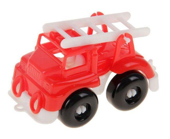 Пожарная машина Малютка, миксИгры и игрушки<br>С помощью игрушечных машинок малыши осваивают простые сюжетные действия: катать машинку, перевозить груз. Дети постарше используют транспортные игрушки для придумывания более сложных сюжетно-ролевых игр.Материал: пластмасса.Машинки представлены в ассортим...<br><br>Год: 2018<br>Высота: 40<br>Ширина: 90<br>Толщина: 40