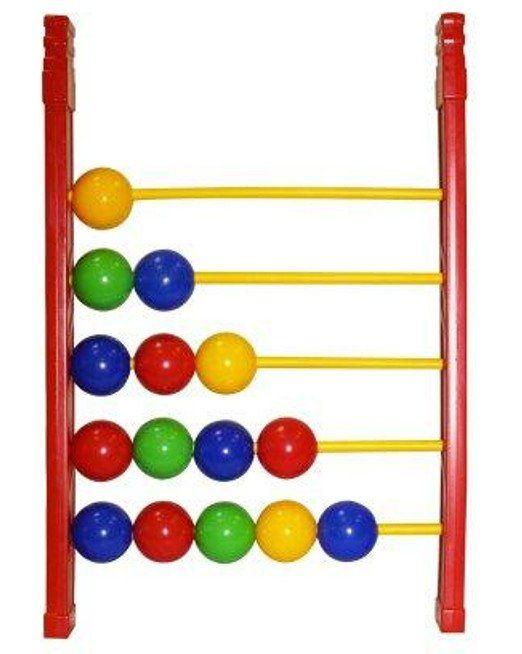 Детские счеты Большие шарикиИгры и игрушки<br>Детские счеты Большие шарики предназначены для маленьких деток и могут быть использованы в начале обучения навыкам счета. 15 шариков зеленого, синего, красного и желтого цветов закреплены на пластиковом основании. Передвигая их по жердочкам, можно разуч...<br><br>Год: 2018<br>Высота: 350<br>Ширина: 250<br>Толщина: 35