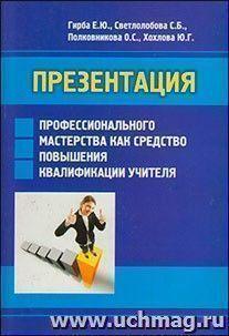 Презентация профессионального мастерства как средство повышения квалификации учителя