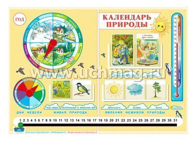 Календарь природы и труда людей картинки