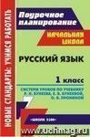 Русский язык. 1 класс: система уроков по учебнику  Р. Н. Бунеева, Е. В. Бунеевой, О. В. Прониной