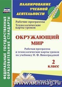 Окружающий мир. 2 класс: рабочая программа и технологические карты уроков по учебнику Н. Ф. Виноградовой