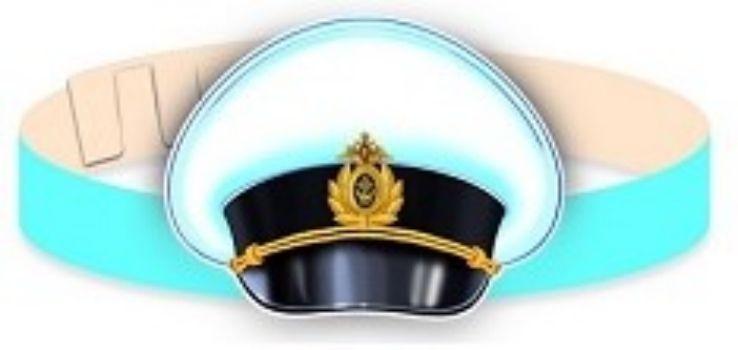 """Маска-ободок """"Фуражка моряка"""""""