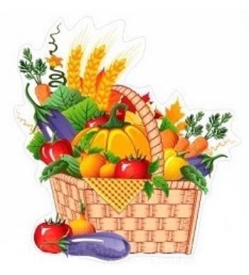 """Декорация для праздника урожая """"Корзинка с овощами"""""""