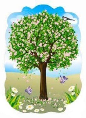 """Декорация """"Дерево весной"""""""