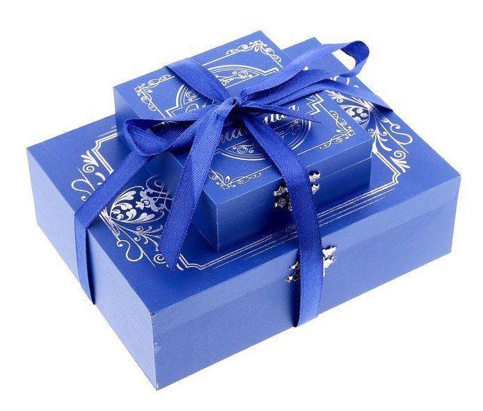"""Подарочный набор на крещение """"В день твоего крещения"""", для мальчика"""