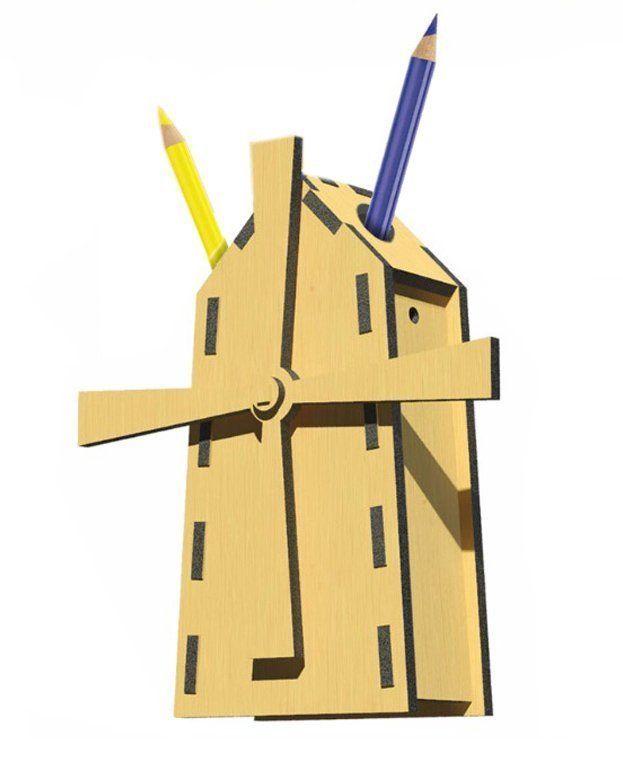 Сборная деревянная модель Сказочная мельница