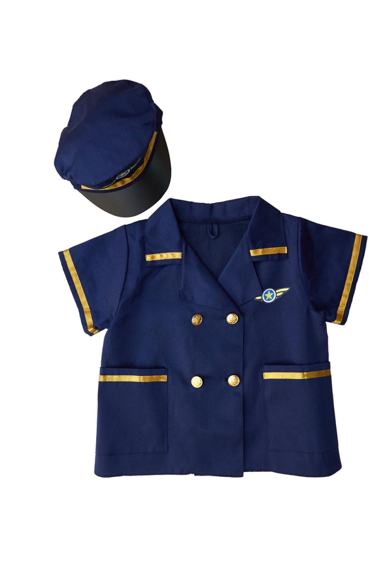 Костюм летчика (куртка, фуражка)