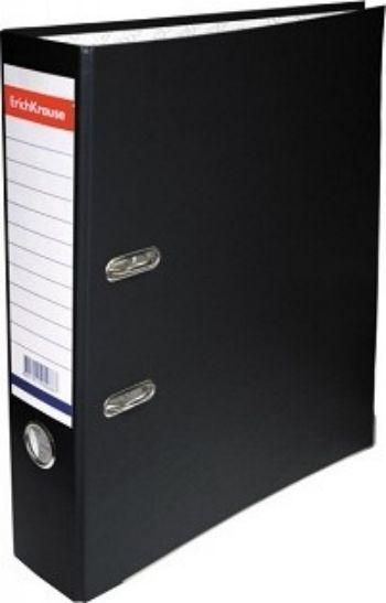 Папка-регистратор для хранения документов Erich Krause, черная