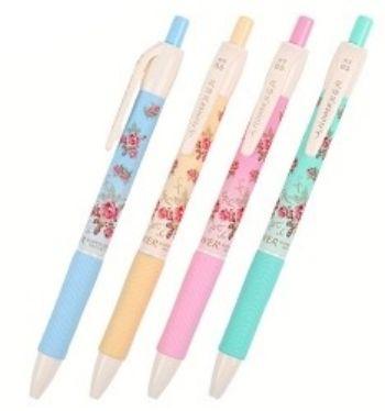 Ручка шариковая ЦветыРучки<br>Ручка шариковая, с резиновым держателем, синяя.Ручки представлены в ассортименте. Выбор конкретных цветов и моделей не предоставляется.<br><br>Год: 2018<br>Высота: 140<br>Ширина: 8<br>Толщина: 8