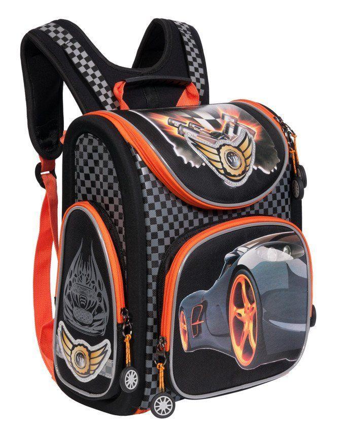 Рюкзак школьный Grizzly. Lamborghini
