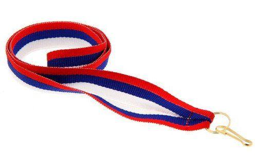 Лента для медали, триколор