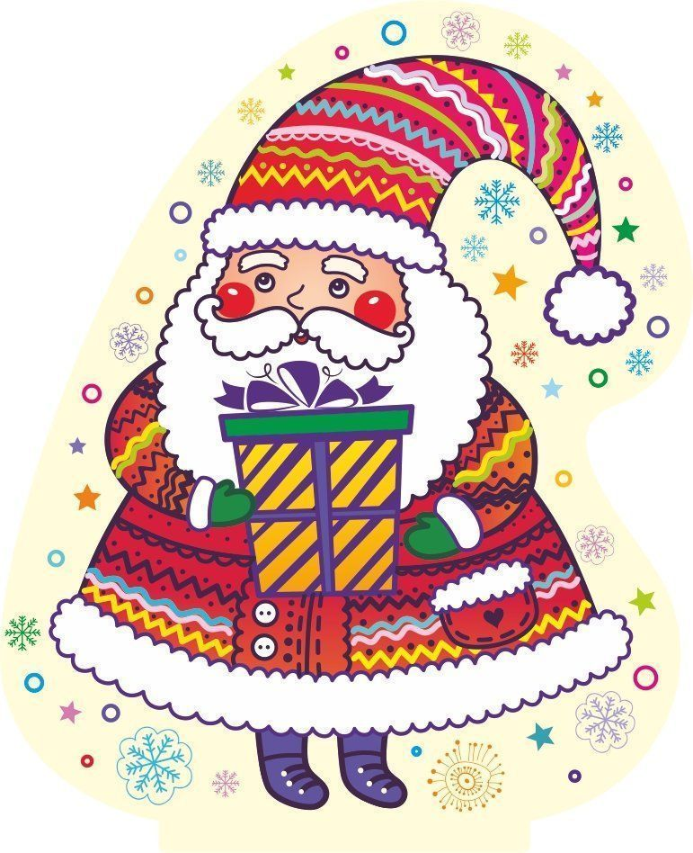 "Фигура на подставке ""Дед Мороз"""