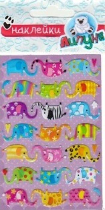 Наклейки воздушные Слоны