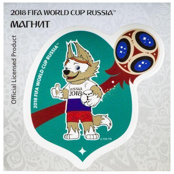 Магнит картонный FIFA 2018. Забивака. РоссияМагниты<br>Магнит с символикой чемпионата мира FIFA 2018.<br><br>Год: 2018<br>Высота: 75<br>Ширина: 75<br>Толщина: 2