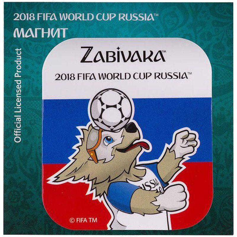 Магнит картонный FIFA 2018. Забивака. Фристайл триколорМагниты<br>Магнит с символикой чемпионата мира FIFA 2018.<br><br>Год: 2018<br>Высота: 75<br>Ширина: 75<br>Толщина: 2