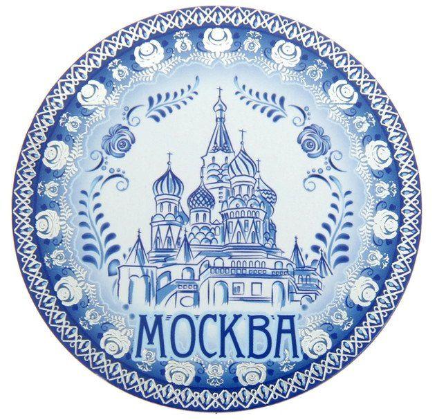 """Магнит под гжель """"Москва"""""""