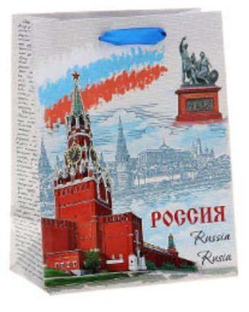 Пакет подарочный символика Россия