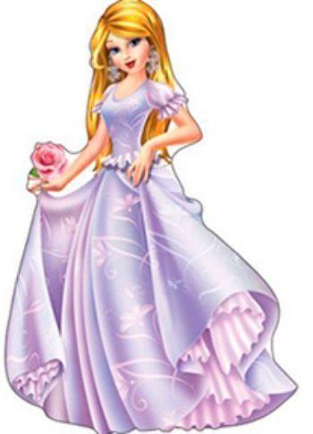 Плакат вырубной Принцесса